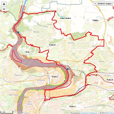 Mc Praha 8 Mapy Krizoveho Rizeni Mapy Krizoveho Rizeni
