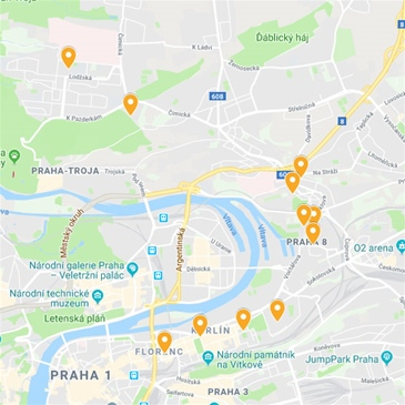 Mc Praha 8 Zivotni Prostredi Mapovy Portal Mc Praha 8 Zivotni