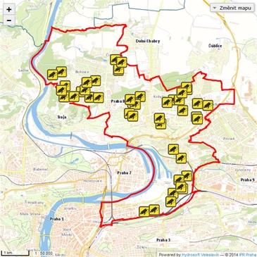 Mc Praha 8 Mapovy Portal Mapovy Portal Mestske Casti Praha 8